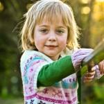 Little Girl in Green